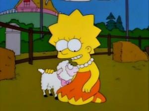 lisa e la pecorella