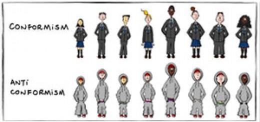 conformismo e anticonformismo Manu Cornet