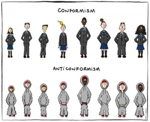 conformismo e anticonformismo di Manu Cornet
