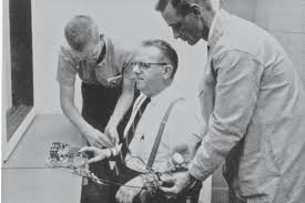 The Milgram obedience experiment