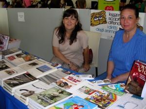 Foto di Viviana Ribezzo e Monica Bertacin di Edizioni Cosmopolis