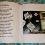 """Foto di due pagine della raccolta di poesie vegan di Vincenzo Piccolo, """"Il Mondo che Vorrei"""""""