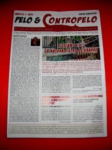 """Foto del periodico """"Pelo e Contropelo"""" di Giorgio Galletta"""